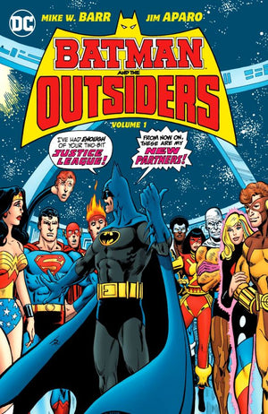 Batman and the Outsiders Volume 1 HC
