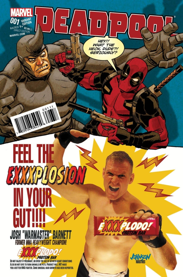 Deadpool (2015) #1 Dave Johnson Variant