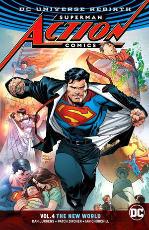 Superman - Action Comics (DC Universe Rebirth) Volume 4: The New World