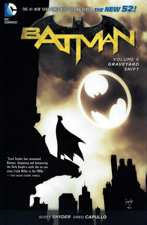 Batman (The New 52) Volume 06: Graveyard Shift