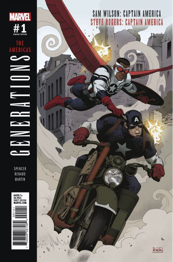Generations Captain #1 Variant