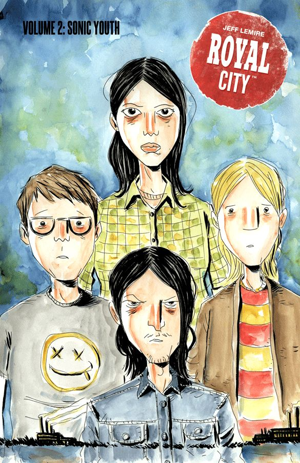 Royal City (2017) Volume 2: Sonic Youth