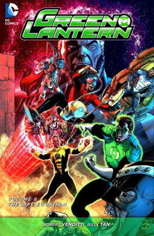 Green Lantern (The New 52) Volume 6: The Life Equation