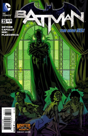 Batman (The New 52) #35 Monsters