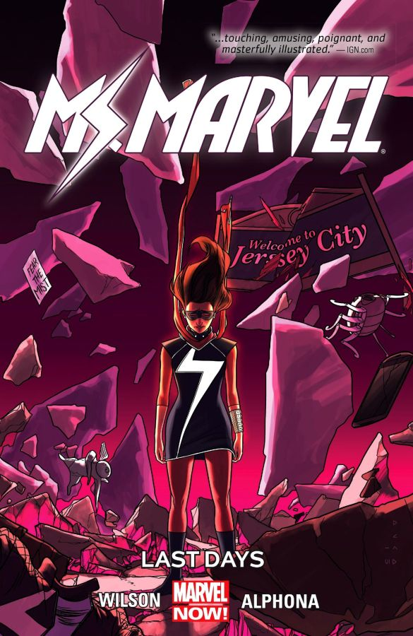 Ms Marvel (2014) Volume 04: Last Days