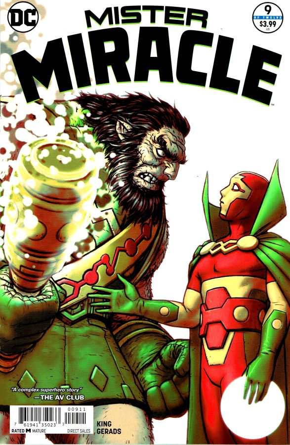 Mister Miracle (2017) #09 (of 12)