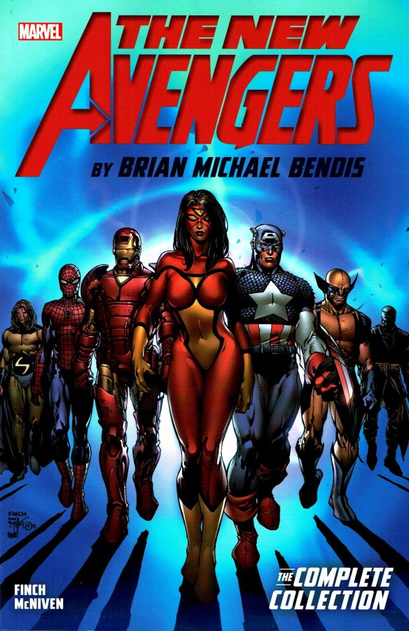 New Avengers by Brian Michael Bendis - The Complete Collection Book 1