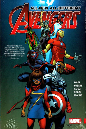 All-New, All-Different Avengers Book 1 HC