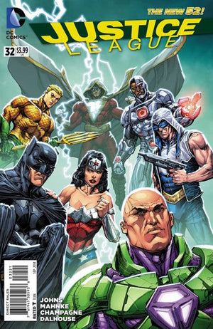 Justice League (The New 52) #32 Variant