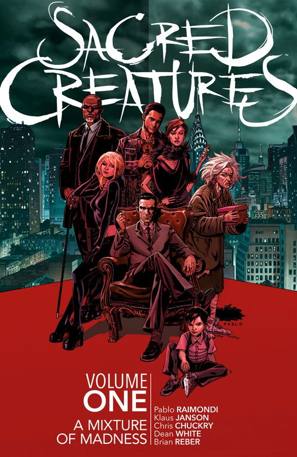 Sacred Creatures Volume 1: A Mixture of Madness
