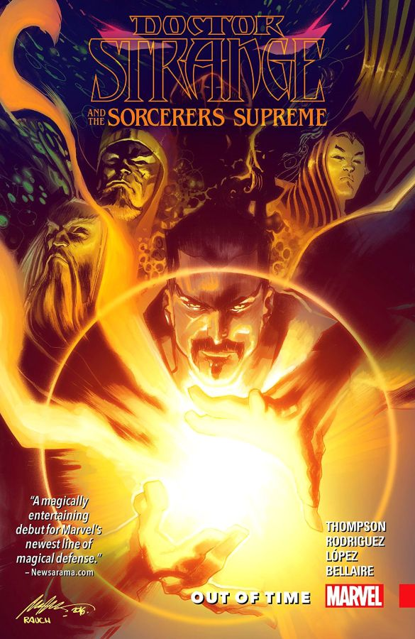 Doctor Strange and the Sorcerers Supreme (2016) Volume 1: Out of Time