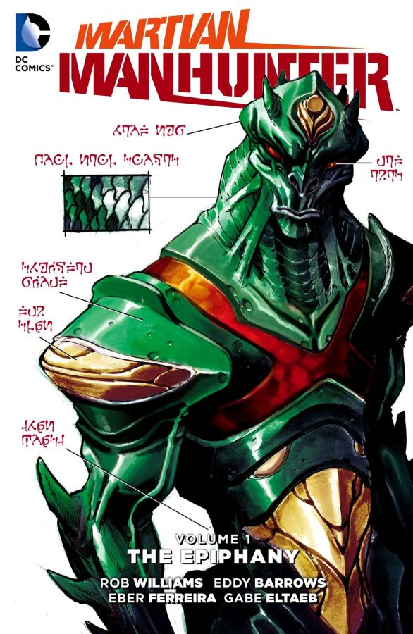 Martian Manhunter (The New 52) Volume 1: The Epiphany