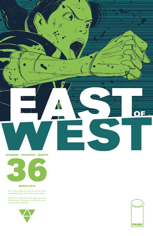East of West (2013) #36 Dragotta Cover