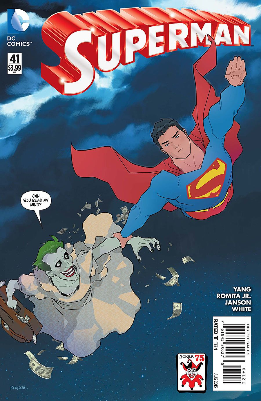 Superman (The New 52) #41 Joker Variant