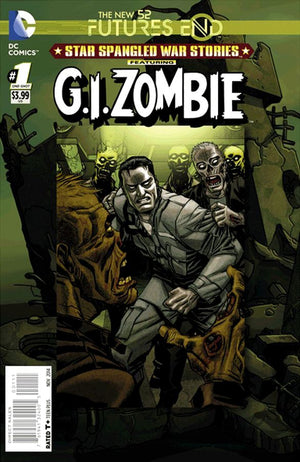 Futures End G.I. Zombie 3D Cover