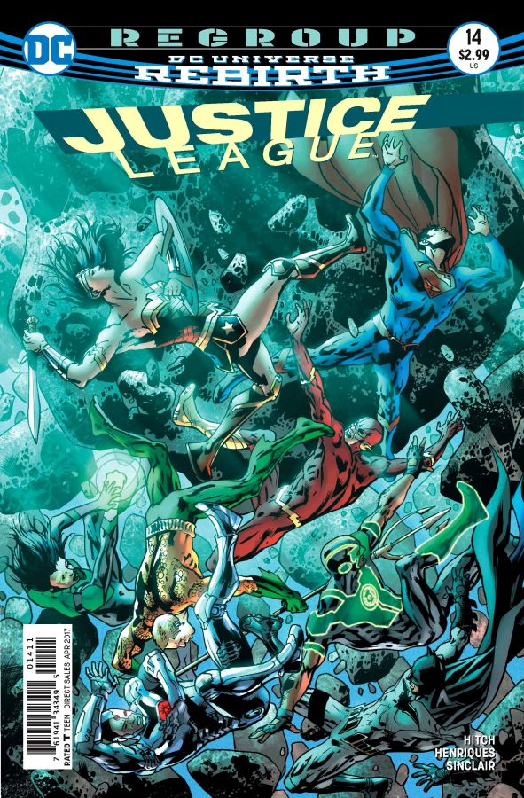 Justice League (DC Universe Rebirth) #14