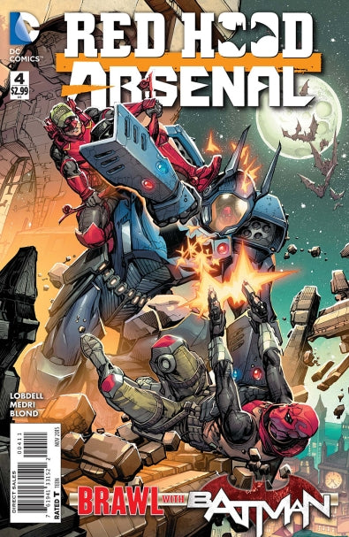 Red Hood / Arsenal (2015) #04