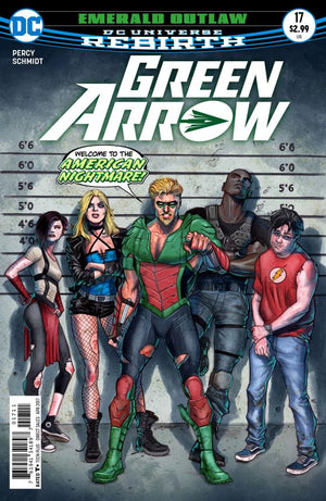 Green Arrow (DC Universe Rebirth) #17