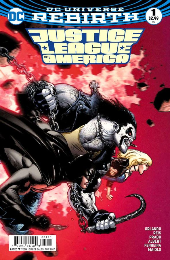 Justice League of America (DC Universe Rebirth) #1 Variant