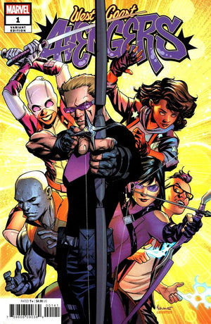 West Coast Avengers (2018) #01 Mike McKone Variant