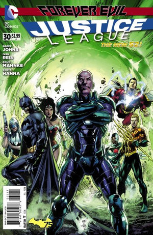 Justice League (The New 52) #30