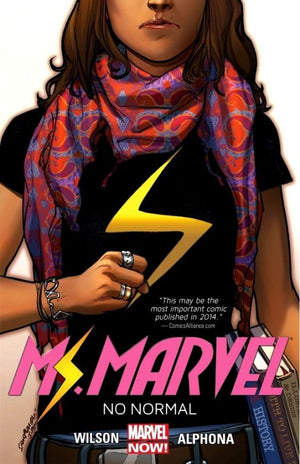 Ms Marvel (2014) Volume 01: No Normal