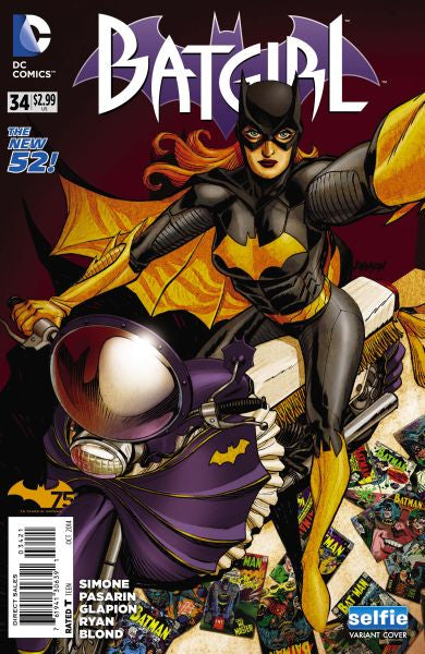 Batgirl (The New 52) #34 DCU Selfie Cover