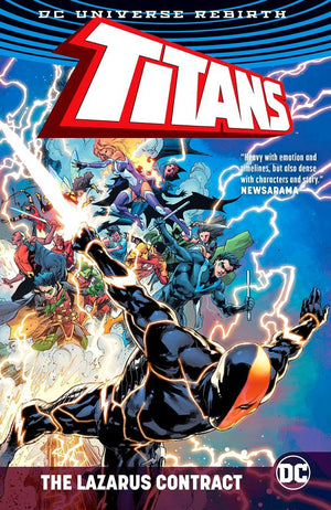 Titans (DC Universe Rebirth): The Lazarus Contract