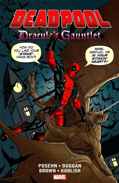 Deadpool Dracula's Gauntlet