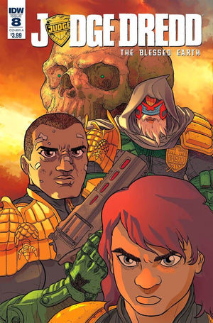Judge Dredd Blessed Earth #08