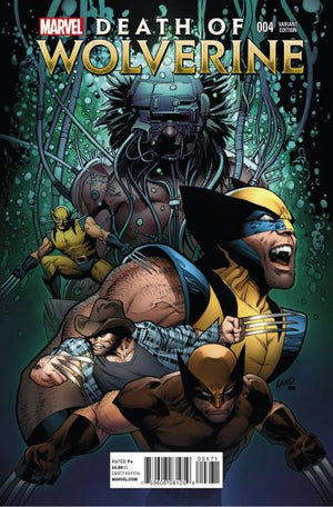 Death of Wolverine (2014) #4 (of 4) Greg Land Variant
