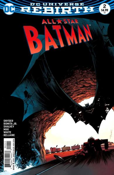 All-Star Batman #02 DS Cover (DC Universe Rebirth)