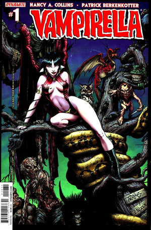 Vampirella #1 (2014) Adams Cover