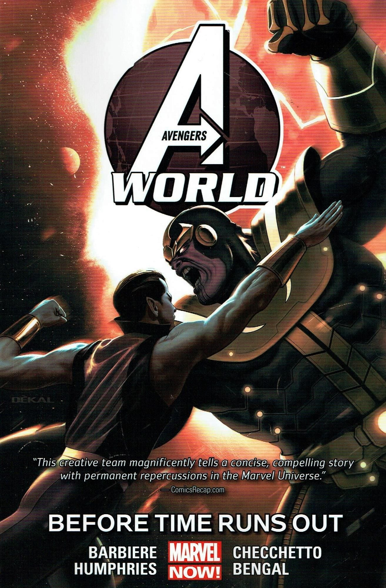 Avengers World Volume 4: Before Time Runs Out