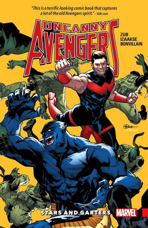 Uncanny Avengers (2015b) Unity Volume 5: Stars and Garters