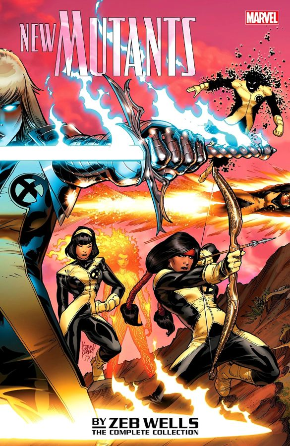 New Mutants by Zeb Wells - The Complete Collection