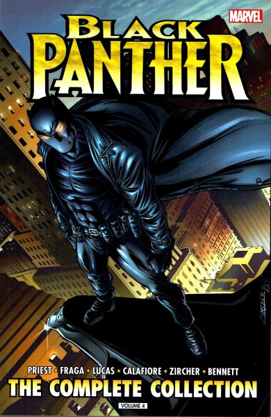 Black Panther by Christopher Priest - The Complete Collection Volume 4