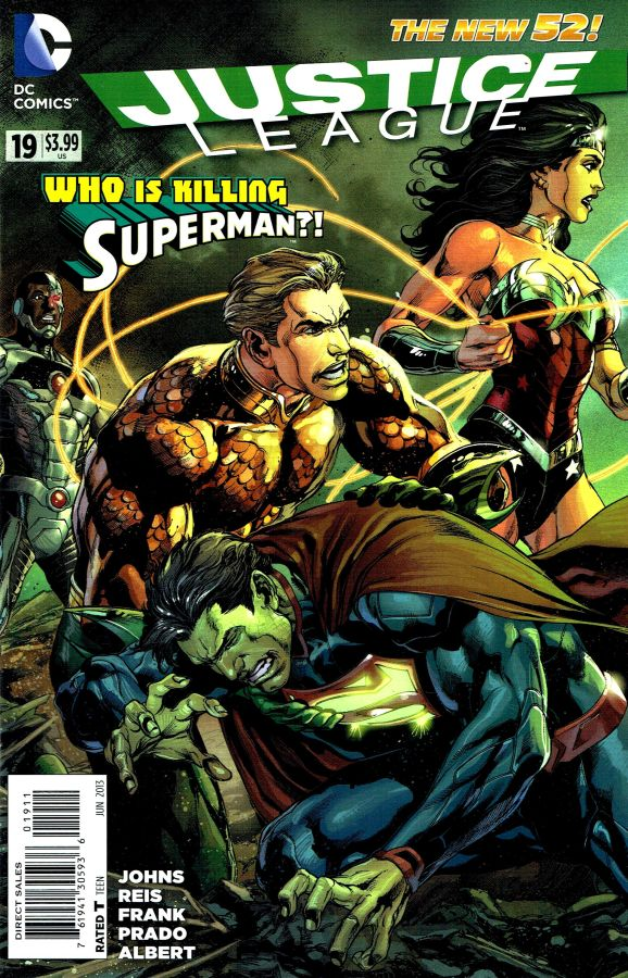 Justice League (The New 52) #19