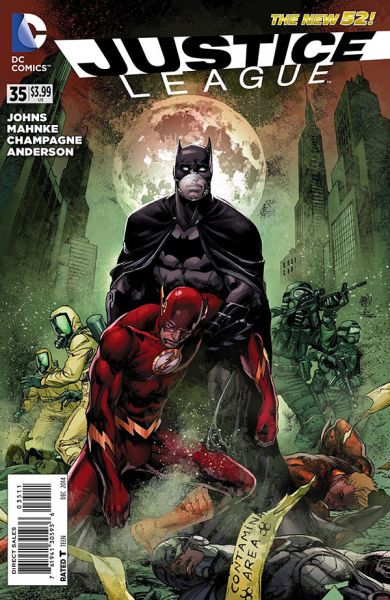 Justice League (The New 52) #35