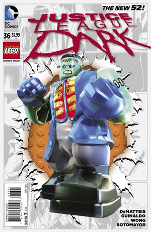 Justice League Dark (The New 52) #36 Lego Variant