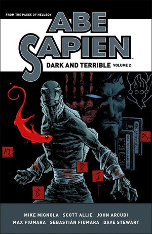Abe Sapien: Dark and Terrible Book 2 HC