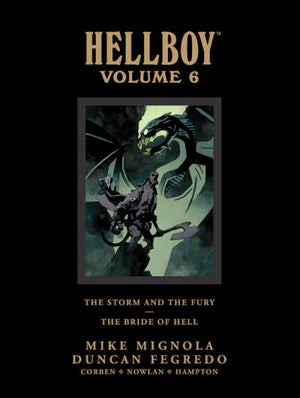 Hellboy Library Edition Volume 6: The Storm and the Fury / The Bride of Hell HC