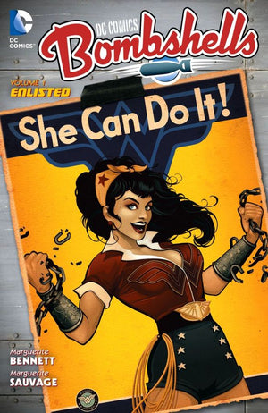 DC Comics Bombshells Volume 1: Enlisted