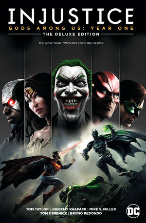 Injustice - Gods Among Us: Year One - The Deluxe Edition HC