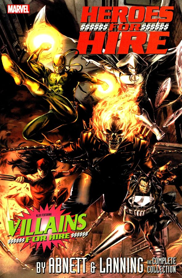 Heroes for Hire by Abnett & Lanning - The Complete Collection