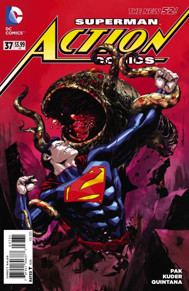 Action Comics (The New 52) #37 Variant