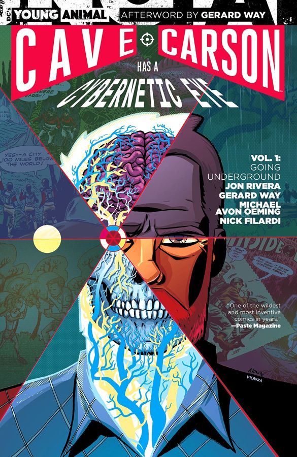 Cave Carson has a Cybernetic Eye (2016) Volume 1: Going Underground