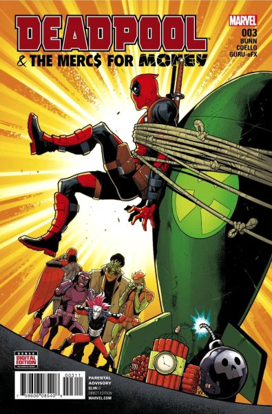 Deadpool Mercs for Money #03