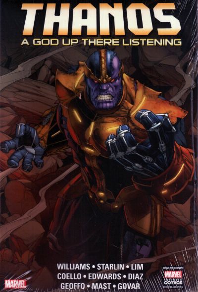 Thanos: A God Up There Listening HC