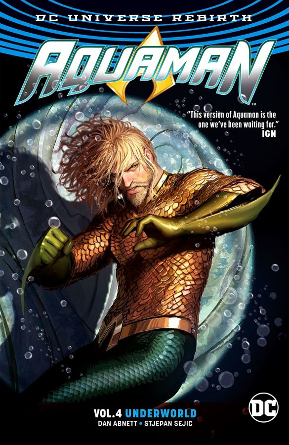 Aquaman (DC Universe Rebirth) Volume 4: Underworld